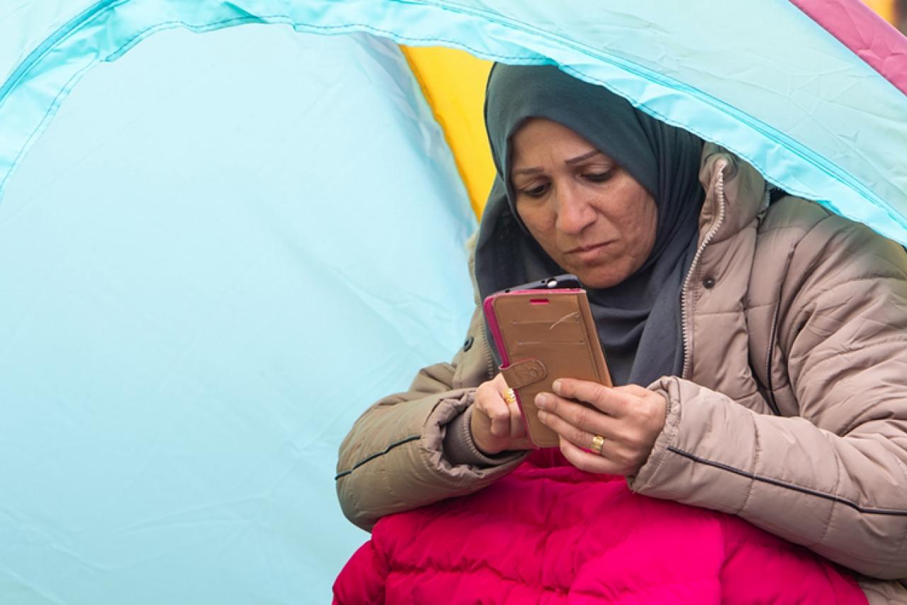 Daling asielzoekers en irreguliere migranten in Europa